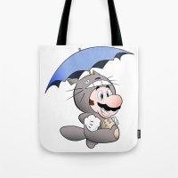 My Neighbor Mario Tote Bag