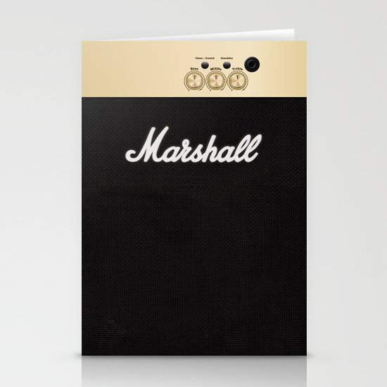 Marshall for iPhone 5 Stationery Card
