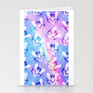 Space Cat - Galaxy Cat -… Stationery Cards