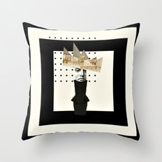 Paper.  Doll. Throw Pillow