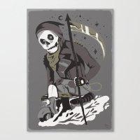 Mobile Death Squad Canvas Print