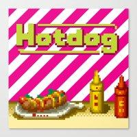 Hotdog Canvas Print