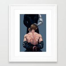 and maybe i'm too blind to see Framed Art Print