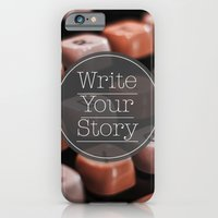 Write Your Story iPhone 6 Slim Case