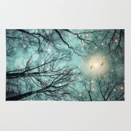Rug featuring Nature Blazes Before You… by Soaring Anchor Desig…