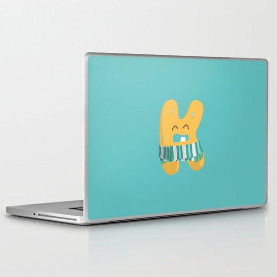 letter K Laptop & iPad Skin