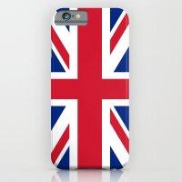 Union Jack Authentic color and scale 3:5 Version  iPhone 6 Slim Case