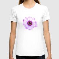 purple T-shirts featuring Purple  by Loredana