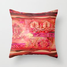 boho ethnic Throw Pillow