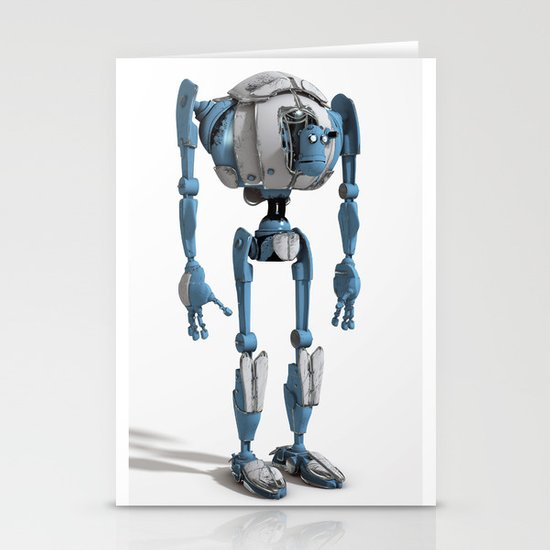 Robot Stationery Card