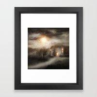 Tales of Halloween Framed Art Print