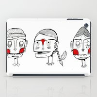 Faces iPad Case