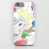 iPhone & iPod Case featuring Line Vs Color #2 by Teresa Cook