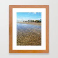 Timeless Beach Framed Art Print