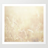 Lets Make Hay Whilst The… Art Print