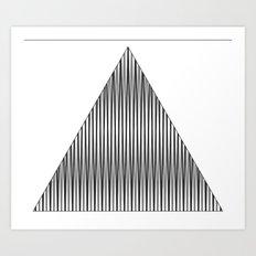 shape eye 1 Art Print