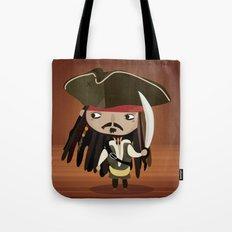 Captain Sparrow Tote Bag