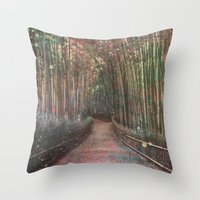 forest2 Throw Pillow