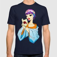 The Animal Inside Mens Fitted Tee Navy SMALL
