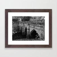 Eltham Palace Bridge Framed Art Print