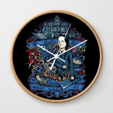 Wednesday Feast Wall Clock