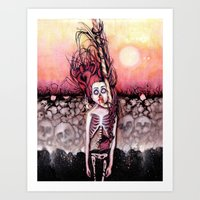 Partially Dreaming Art Print
