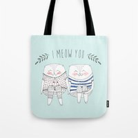 I meow you Tote Bag