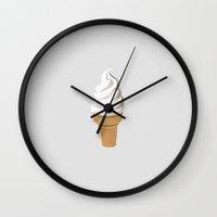 Ice Cream (Bright) Wall Clock