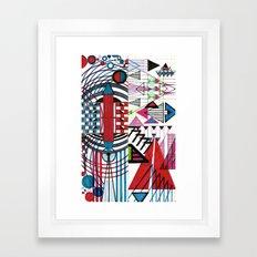 Doodle #1 Framed Art Print