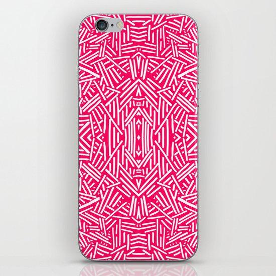 Radiate (Coral) iPhone & iPod Skin