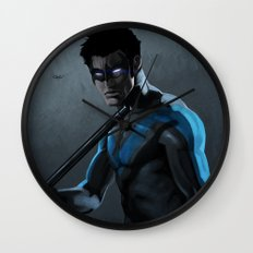 Nightwing Wall Clock