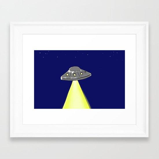 LIGHT-1 Framed Art Print