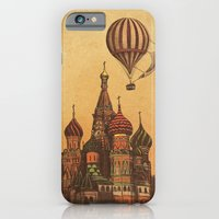 iPhone Cases featuring Moving to Moscow by Terry Fan