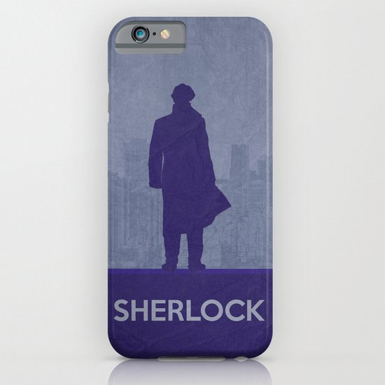 Sherlock Poster 01 iPhone & iPod Case