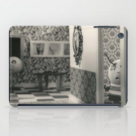 Hanging a painting fail - tim burton iPad Case