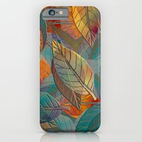 iPhone & iPod Case featuring Autumn Pattern by Klara Acel