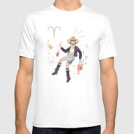 T-shirt featuring Aries by LordofMasks