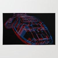 Classic Galactica 3D Rug