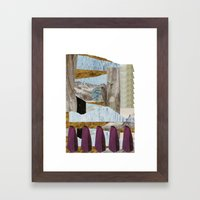 outside upside Framed Art Print