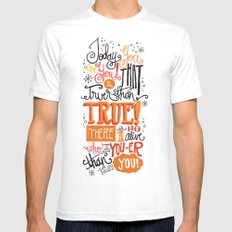 TODAY YOU ARE YOU... - DR. SEUSS White SMALL Mens Fitted Tee