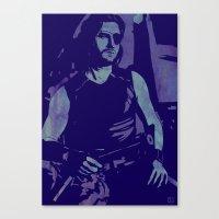 Plissken Canvas Print