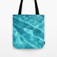 Water / Swimming Pool (Water Abstract) Tote Bag