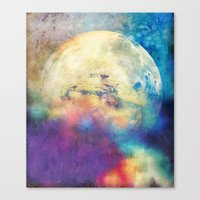 The MOON 3 Canvas Print