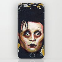 Edward Scissorhands - Johnny Depp iPhone & iPod Skin