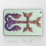 Celtic Cross II Laptop & iPad Skin