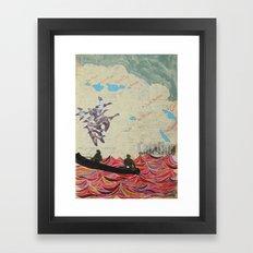 Channel Islands Framed Art Print