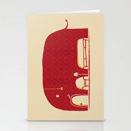 Elephanticus Roomious Stationery Card
