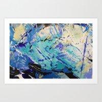 Wasser 9 Art Print