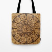 Wheel of time Tote Bag