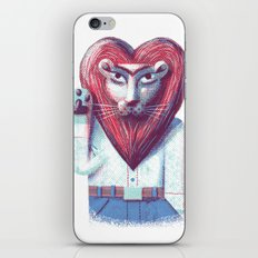Lion's heart iPhone & iPod Skin